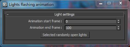 Lights flashing animation