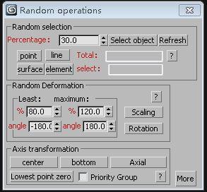 Random operations