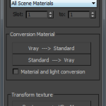 Material type conversion