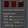 Create doors windows