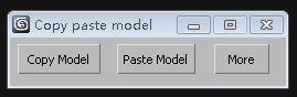 Copy paste mode