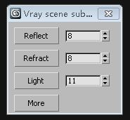 Vray scene subdivs settings2