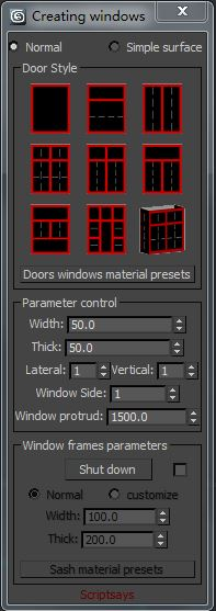 Creating windows