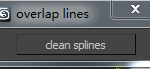 Cleanup overlapping line