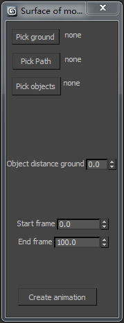 Object surface movement